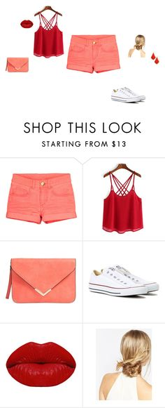 """""""Untitled #33"""" by sara-tadic-1 ❤ liked on Polyvore featuring Converse, Winky Lux, ASOS and Kendra Scott"""