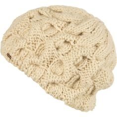 Free People Snow Bird Beret ($28) ❤ liked on Polyvore featuring accessories, hats, chunky knit hat, beanie beret, beret beanie, acrylic beanie and bird hat