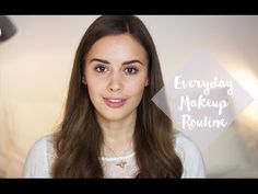 Everyday Makeup Routine | Hello October - YouTube
