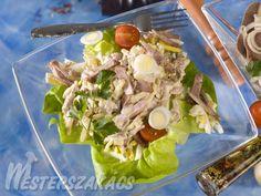 Orosz hússaláta recept Potato Salad, Ale, Tacos, Potatoes, Mexican, Ethnic Recipes, Food, Eten, Ales