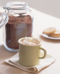 Hot-chocolate mix is a wintertime staple. A homemade version is delicious and natural -- containing only cocoa, sugar, and salt -- and especially economical compared with store-bought mixes.