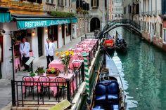 Bir rüya şehir Venedik.