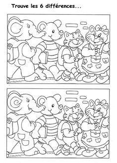 Les Jeux D'anniversaire Adulte Inspirational Jeu Des 7 Erreurs à Imprimer Craft Activities For Kids, Classroom Activities, Preschool Activities, Preschool Education, Preschool Worksheets, Free Coloring Pages, Coloring For Kids, Social Studies Worksheets, Paper Games