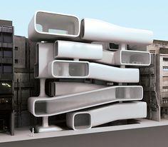 Conceptual Architecture Showcase – Breaking the Limits - Cruzine Conceptual Architecture, Space Architecture, Futuristic Architecture, Beautiful Architecture, Contemporary Architecture, Architecture Details, Creative Architecture, Chinese Architecture, Amazing Buildings