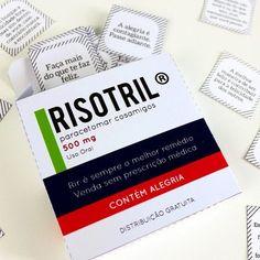 DIY: Risotril – Caixinha com frases sobre felicidade