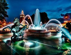 J C Nichols Memorial Fountain