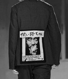 kuroikami:  Yohji Yamamoto SS '15
