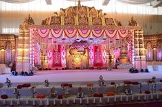 Birthday Event# Wedding Event# Cooperative Event# Sangeeth Event # Mehndhi Event# Photography and Videography Indian Wedding Stage, Wedding Stage Backdrop, Wedding Stage Design, Wedding Mandap, Wedding Receptions, Wedding Table, Desi Wedding Decor, Wedding Hall Decorations, Marriage Decoration