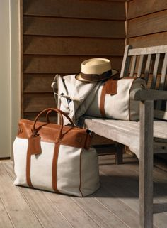 Travel in style, Hackett travel bags
