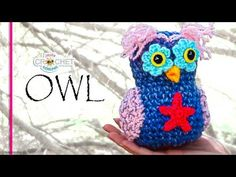 Adorable Crochet Owls…Free Patterns + Video Tutorial | Crochet Maze