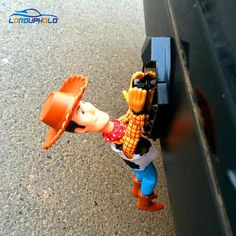 Promo offer US $14.50  LORDUPHOLD Funny Lovely Toy Story Sherif Woody Car Doll Outside Hang Toy Cute Muneca Auto Accessories 20CM 30CM 40CM Hot Sell