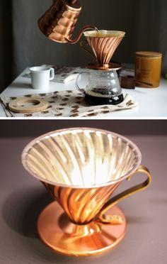 Dripper do kawy i inne kofeinowe dodatki dla wybrednych. Nigdy więcej 'depresso' !