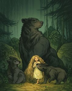 ...The bears did not dare kill her. They are not beasts like the humans. They don't kill for fun...