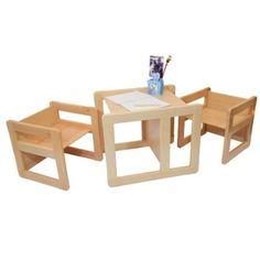 Table De Ferme Et Ses Quatre Chaises Kidkraft 21421