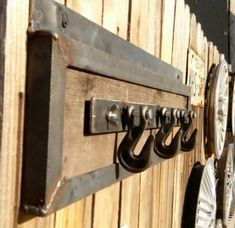 Industrial coat rack/purse rack van industrializedesign op Etsy