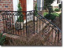 wrought iron railing sacramento on exterior hand railings home depot