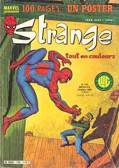 Couverture de Strange -154 - Strange 154