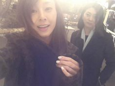 G.NA shares a lovely snapshot with her mother