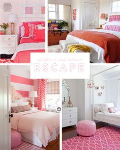 Designing a guest bedroom escape
