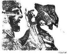 famous former pupils - Robert Colquhoun Collage Illustration, Famous Artists, Printmaking, Moose Art, Prints, Animals, Image, Google Search, Animales