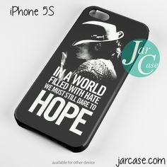 Michael Jackson Quotes Phone case for iPhone 4/4s/5/5c/5s/6/6 plus