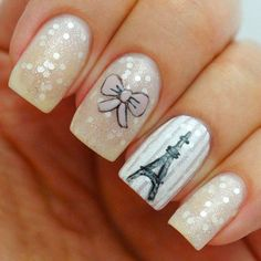 Paris Nail Designs Ideas cute i love paris nail art collections be modish Paris Nail Designs. Here is Paris Nail Designs Ideas for you. Paris Nail Designs nail art tutorial paris nails nail it. Paris Nail Designs cute i love. Fabulous Nails, Gorgeous Nails, Love Nails, Fun Nails, Pretty Nails, Paris Nail Art, Paris Nails, French Nails, French Manicures