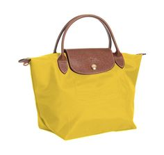 longchamp bag in curry
