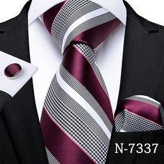 Mens Wedding Ties, Wedding Bands, Mens Silk Ties, Men Ties, Business Mode, Cufflink Set, Tie And Pocket Square, Pocket Squares, Tie Set