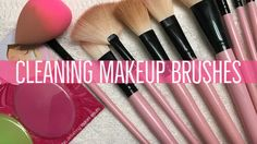 The easiest way to clean makeup brushes!