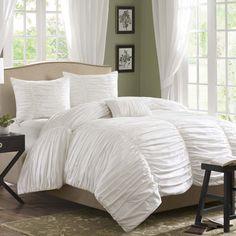 Madison Park Delancey 4 Piece Comforter Set | Wayfair