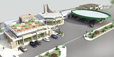 future Gas Station ZIZ in Tangier   JAAFRI Architectes