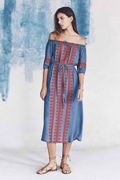 Madewell Spring 2016 | Ruffled blouses and embroidered dresses inspired by travels to Mexico and Morocco
