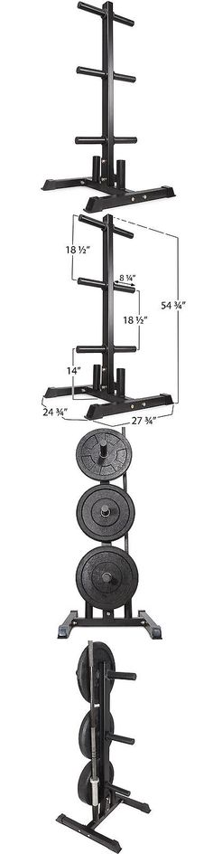 Weight Storage 179819 Olympic Dumbbell Rack Gym Plates Stand Fitness Equipment Weight Lifting Storage -u003e BUY IT NOW ONLY $139.95 on eBay! | Pinterest  sc 1 st  Pinterest & Weight Storage 179819: Olympic Dumbbell Rack Gym Plates Stand ...