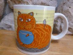 Kitty Katfish mug by Taylor & Ng art by Win Ng by TheFurKidsStore