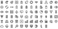 Native line icons pack - Round Icons Premium All Icon, Icon Set, Icon Tattoo, Bullet Journal Key, Icon Pack, Line Icon, Icon Design, Nativity, Instagram