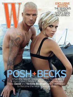 victoria beckham w magazine big 610x813 In Pictures: Victoria Beckhams Best Magazine Covers
