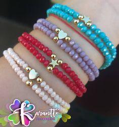 Beaded Jewelry Patterns, Handmade Jewelry Designs, Fabric Jewelry, Homemade Jewelry, Diy Jewelry Making, Bracelet Crafts, Beaded Bracelets, Girls Jewelry, Jewelry Accessories