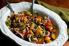 Hearty Heirloom Tomato Salad —Raw Food Rawmazing Raw Food