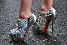 Louboutin...............crazy cool shoes!