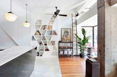 DAGA Cafe / byn Studio - nice #bookshelf