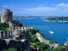 Bosporus and castle