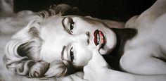 Barato 3175 handmade modern nude Marilyn Monroe pintura a óleo em tela de arte para decoração de casa presente original, Compro Qualidade Pintura & caligrafia diretamente de fornecedores da China:        Transformar suas fotos em belas pinturas sobre tela            Nós podemos personalizar o seu fim, retrato