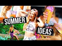 ▶ PERFECT SUMMER DAY: DIY Accessories & Summer Ideas! | LaurDIY - YouTube
