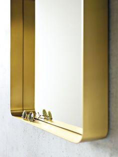 Brass Mirror by Nina Mair