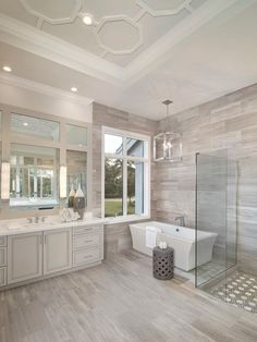 DIY Master Bathroom Ideas Remodel On a Budget, Remodeling your bathroom is a superb way to raise the worth of your house. You may provide your bathroom a completely different appearance with innovative designs and some easy bathroom decorating ideas Bad Inspiration, Bathroom Inspiration, Basement Remodeling, Bathroom Renovations, Basement Ideas, Remodeling Ideas, Bathroom Makeovers, Modern Basement, Kitchen Makeovers