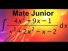 Como resolver integrales racionales por fracciones parciales Suscribete a mi canal Matejunior de youtube para que estes atento a mas videos