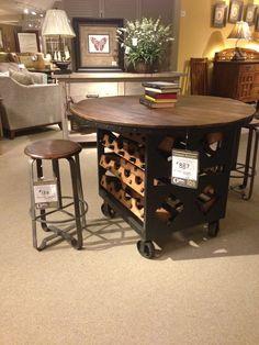 Man cave bar table