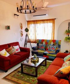 Indian Home Interior, Indian Home Decor, Diy Home Decor, Indian Living  Rooms,