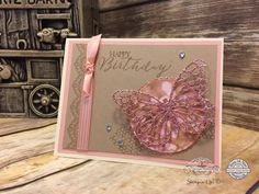 Butterfly Basics, Butterfly Thinlits, Delicate Details, Falling In Love DSP, Layering Circles, Stamp Ink Paper Challenges, Stitched Shapes Framelit Dies