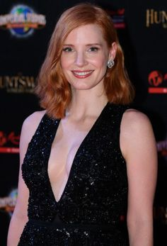 Jessica Chastain poses for a photo during The Huntsman: Winter's War Premiere at Universal Studios Singapore on April 3, 2016 in Singapore.